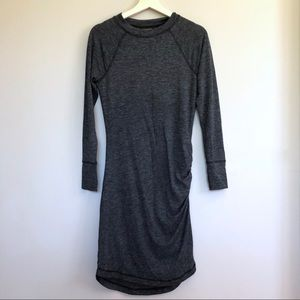 Banana Republic side rouched sweater dress